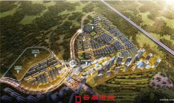 昆明金茂国际新城规划建设高层住宅、洋房和低层建筑
