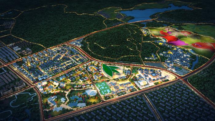 云南腾冲冰雪小镇灯光嘉年华将于11月25日开展