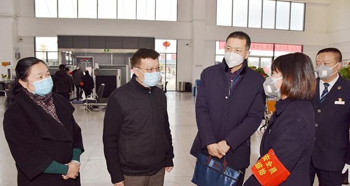 国务院应对新型冠状病毒感染的肺炎疫情联防联控机制督导组到楚雄州督导检查