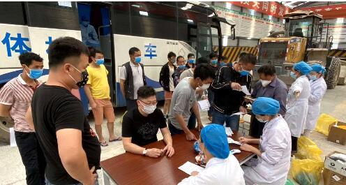 云南勐海:医院上门服务助力企业复工