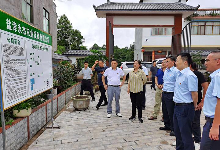 建行云南省分行行长杨中仑赴扶贫点调研定点扶贫工作