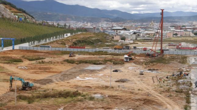 香格里拉市旺池卡综合产业园项目进展顺利